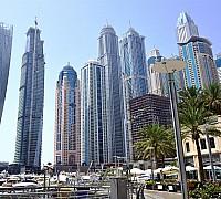 Jellegzetes dubai felhőkarcolók