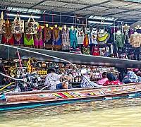 Damnoen Saduak úszó piaca
