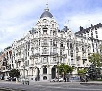 Jellegzetes madridi építészet