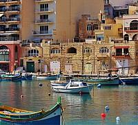 Jellegzetes máltai épületek