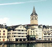 Zürichi Szent Péter templom