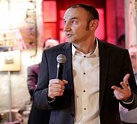 Az Én Légitársaságom 2017 díjátadó - Horváth Balázs a repjegy.hu-t üzemeltető Weco-Travel Kft. ügyvezetője előadást tart