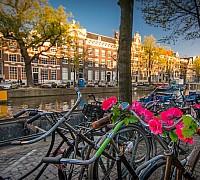 Amszterdam a biciklik városa