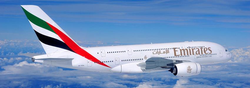 Utazzon Ön is a világ egyik legjobb légitársaságával, az Emirates-el!