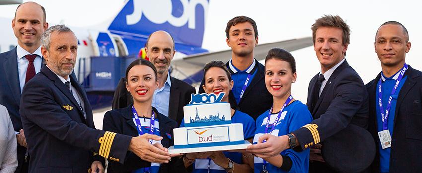 November 8-án hivatalosan is elindult az Air France újgenerációs légitársasága, a JOON első járata a párizsi Charles de Gaulle repülőtérről Budapestre.