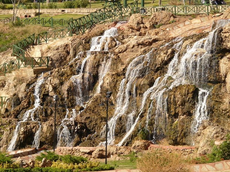 Antalya nevezetes vízesése, a Düden-vízesések
