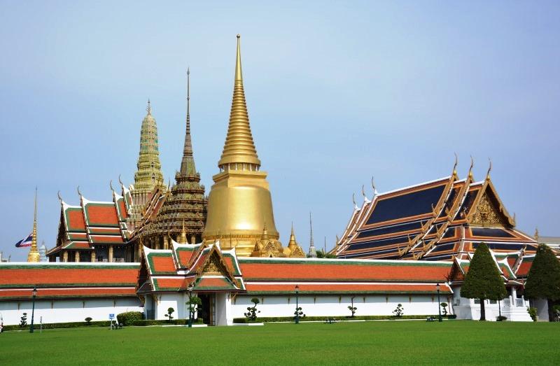 A legszentebb buddhista templom Thaiföldön, az Wat Phra Kaew