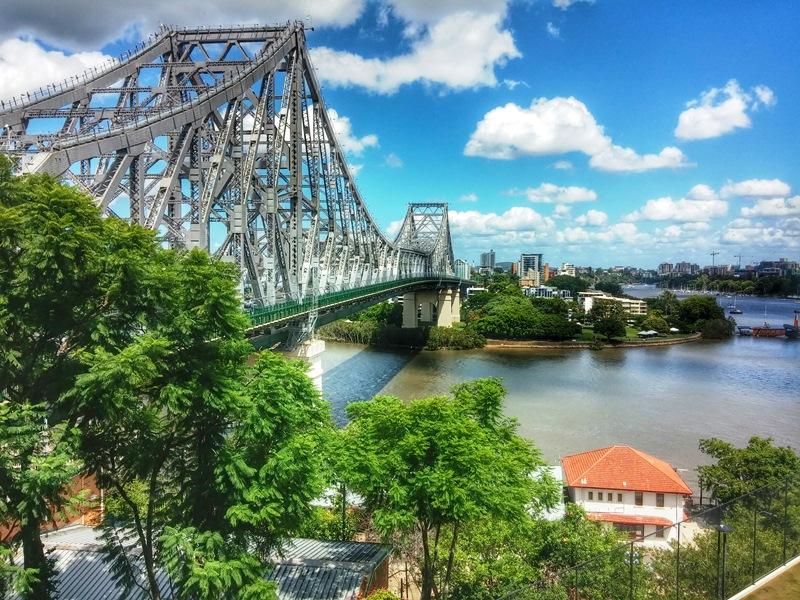 Ausztrália leghosszabb függőgida, a Story Bridge.