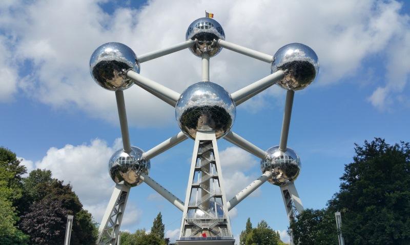 A brüsszeli Heysel parkban található emlékmű, az Atomium