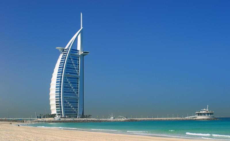 Dubaj hétcsillagos szállodája, az Burdzs al-Arab