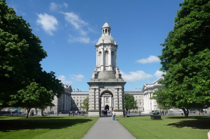 Dublin legrégebbi egyeteme, a Trinity College