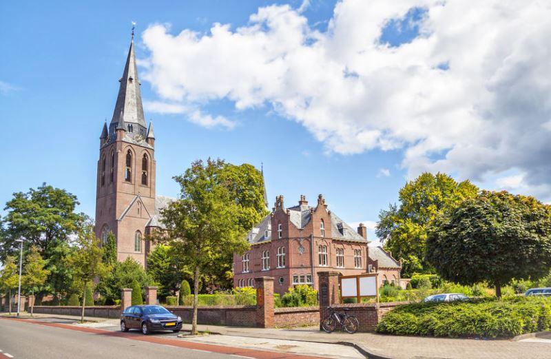 Eindhoven egyik temploma, a Church of Saint Lambert