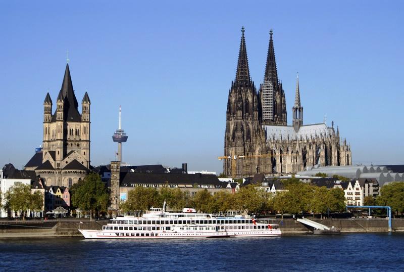 A gótikus stílusú katedrális, a Kölni dóm