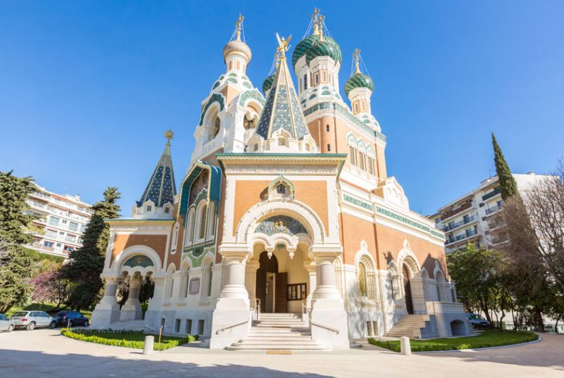 A keleties orosz ortodox székesegyház, a Saint-Nicolas