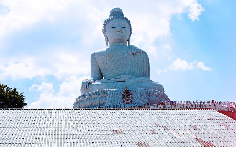 A Chalongon található úgynevezett Big Buddha szobor