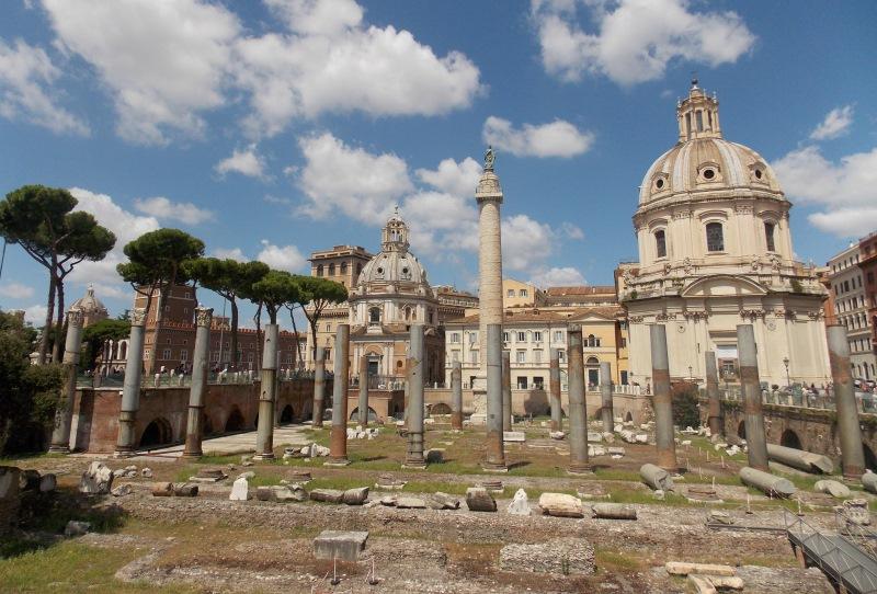 A város egykori fő találkozási pontja a Forum Romanum