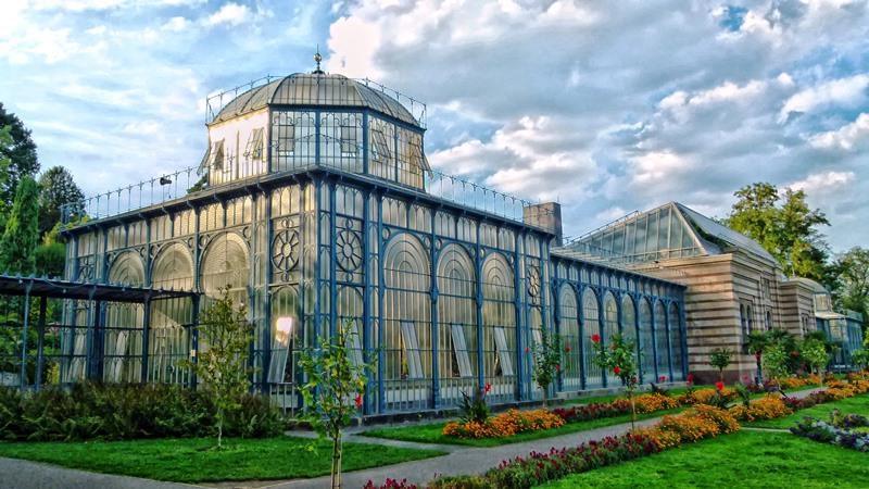 Németország egyetlen botanikus- és állatkertje egyben, a Wilhelma