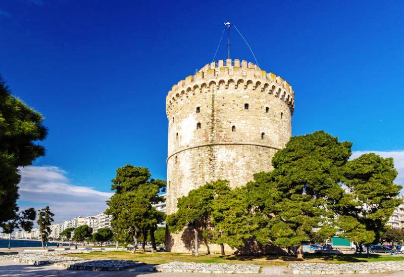 A görög eredetű, Szaloniki jelképének számító Fehér torony