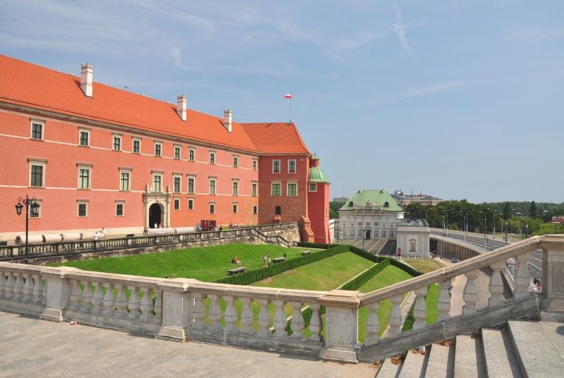 A gótikus stílusú téglavár, a Királyi Palota
