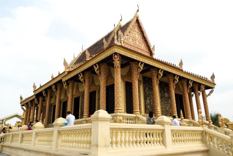 Jellegzetes Khmer templom