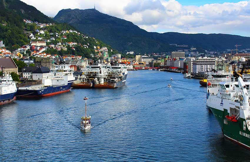 A norvég fjordok kapuja, Bergen