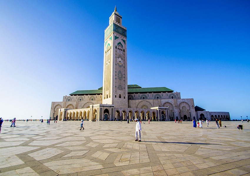 Csablanca, Marokkó - repülőjegy foglalás - repjegy.hu