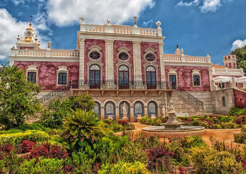 Estoi palota a portugáliai Faróban - repjegy.hu