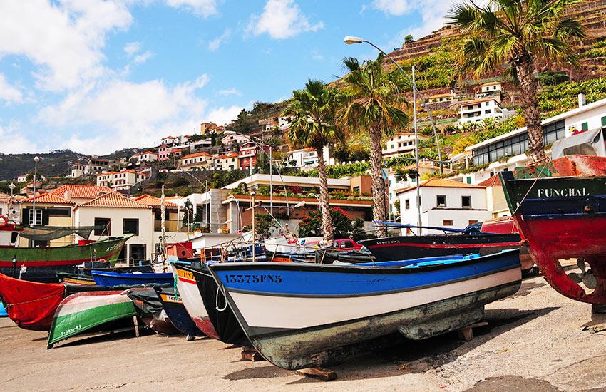 Funchali csónakok