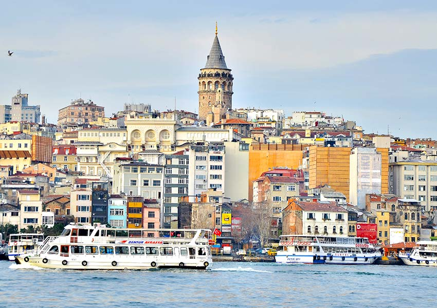 Galata torony, Isztambul
