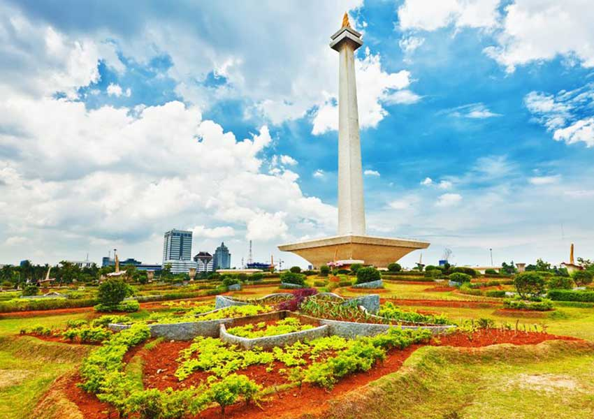 Jakarta, Merdaka tér, Monas Műemlék - repjegy.hu