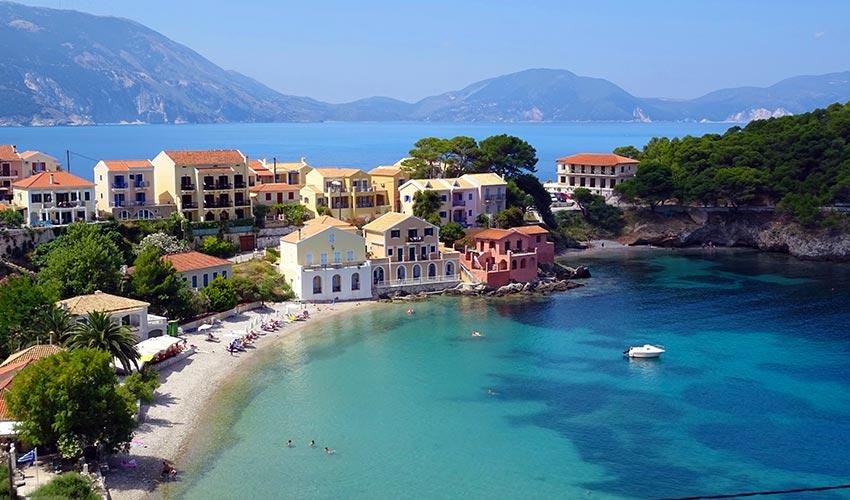 Kefalónia sziget Görögországban