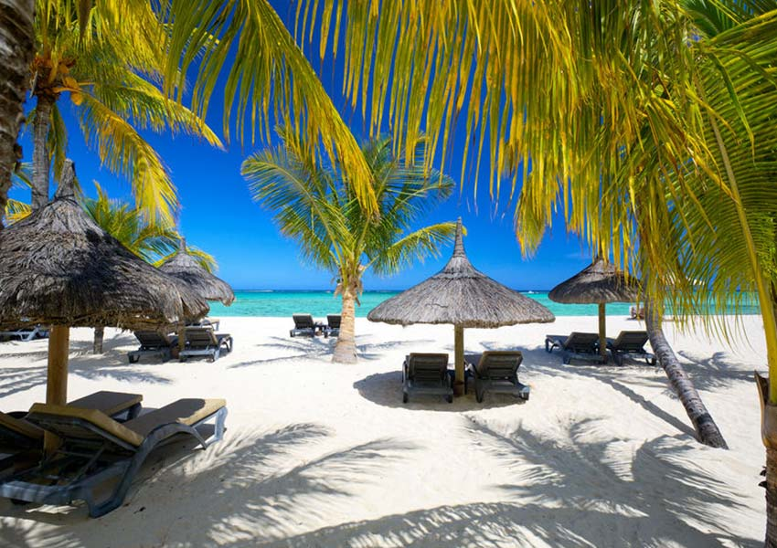 Paradicsomi partszakasz Mauritiuson