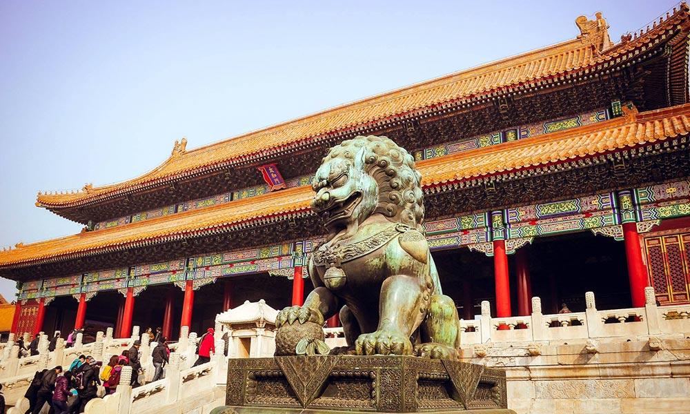 A kínai császárok egykori lakhelye, a Tiltott Város