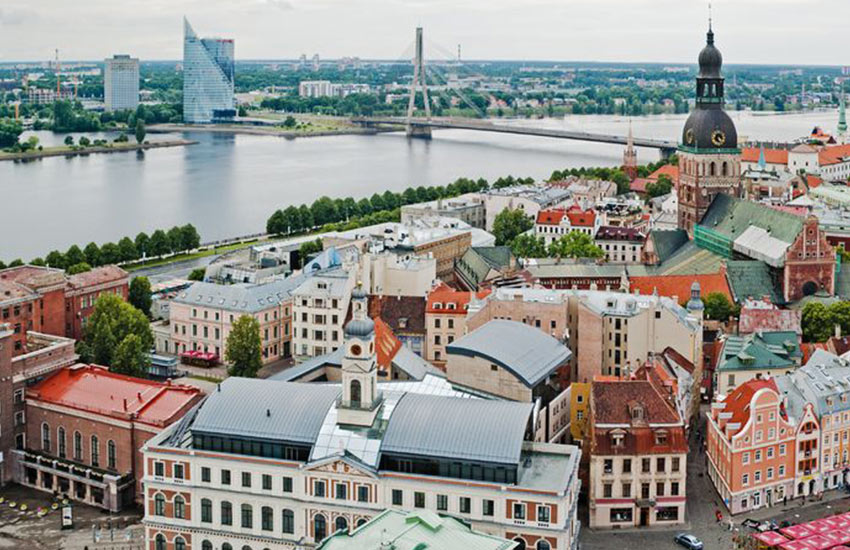 Történelmi épületek Rigában