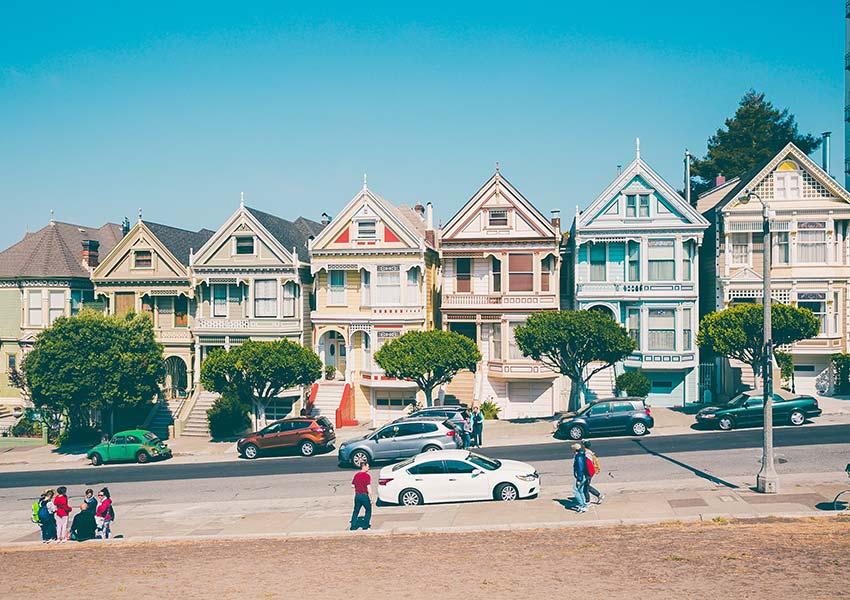 Viktoriánus házak San Franciscóban
