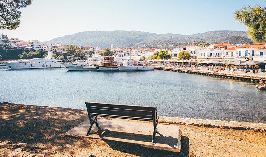 Skiathos sziget Görögországban