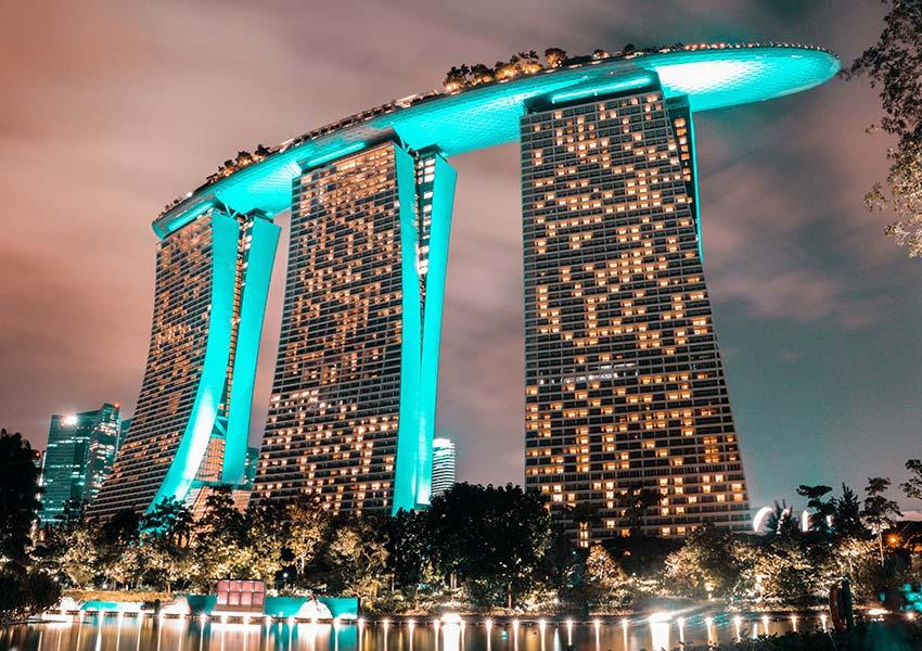 A Marina Bay Sands hotel Szingapúrban