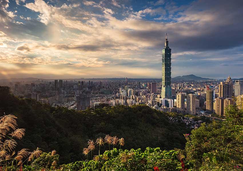 Taipei 101: 509 méter magas, 101 emeletes épület Tajpejben