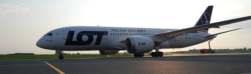 Kedvezmények a LOT Polish Airlines repülőjegykre