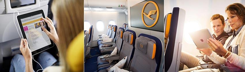 Szélessávú internet a Lufthansa járatok fedélzetén - repjegy.hu