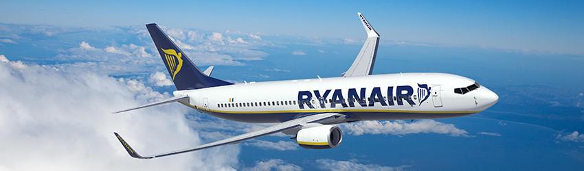 Ryanair légitársaság, repülőjegyek, információk - repjegy.hu