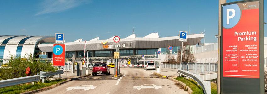 Repülőtéri parkolás, online kedvezménnyel