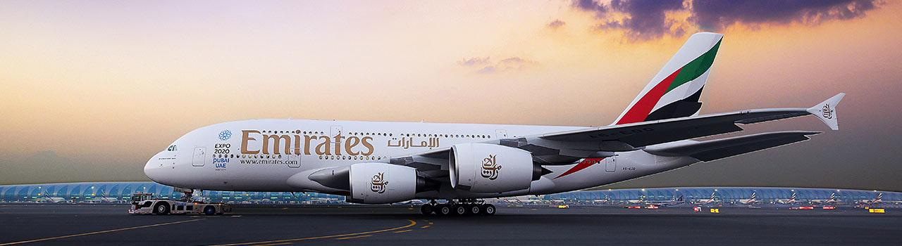 Foglaljon az Emirates járataira kedvezményes áron!