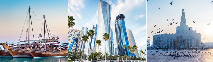 Minden, Dohában átszálló és legalább 12 órát várakozó utas részére a Qatar Airways légitársaság a katari turisztikai hatósággal (Qatar Tourism Authority – QTA) együttműködve ingyenes egyéjszakás tartózkodást biztosít.